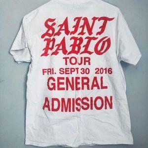 Yeezy Shirts - Saint Pablo Yeezy Tour Shirt